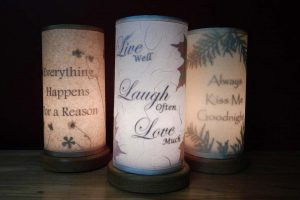 Personalized Accent Lights with Quotes and Phrases