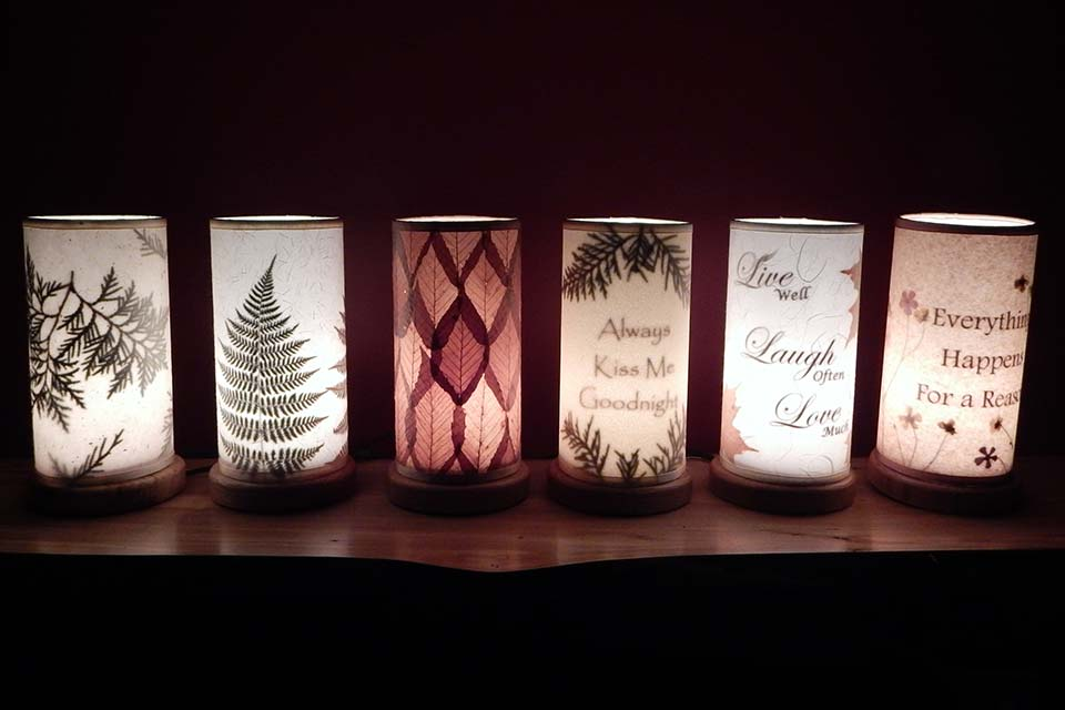 decorative accent lights made in the adirondacks - Decorative Night Lights