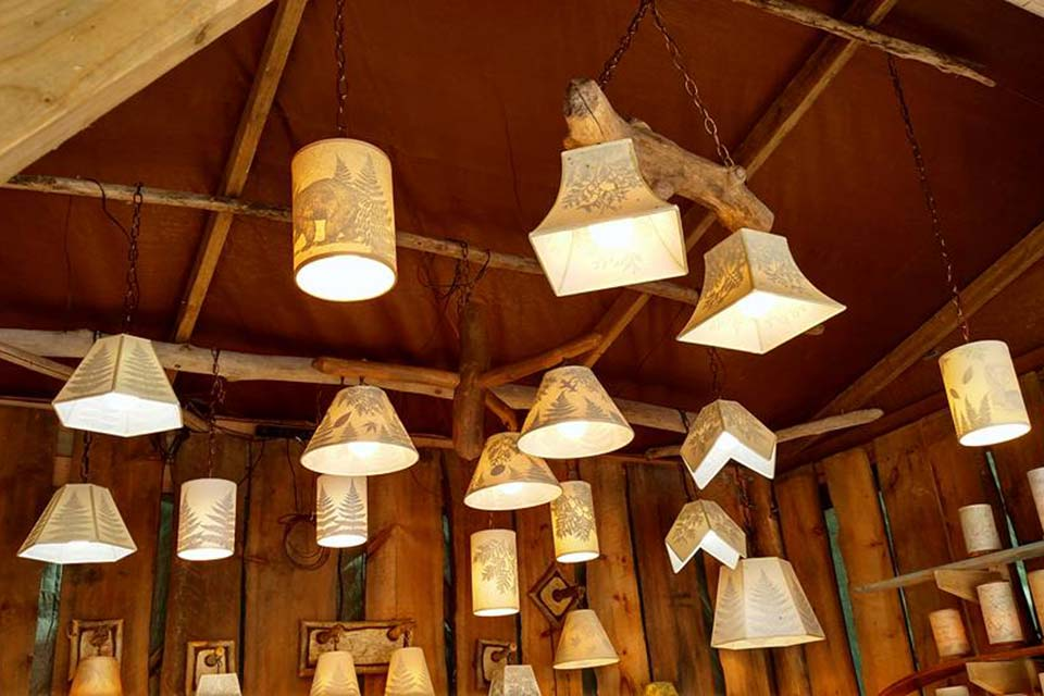 Handmade lamp shades