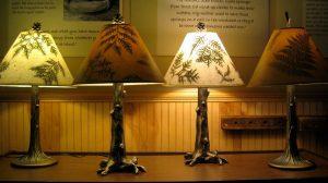 Adirondack Folk School, Students, Lamp Shades