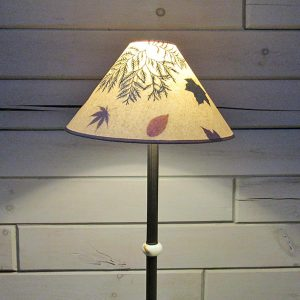 ferns and leaves lamp shade