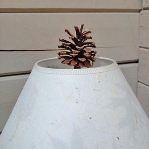Acorn, Twig & Pine Cone Lamp Finials